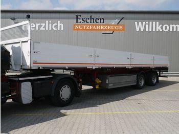 Pritsche Auflieger Ackermann PS 20/12.6, Luft, BPW, gelenkte Achse