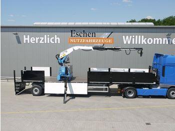 Pritsche Auflieger Wilken Roll - Kranauflieger Kennis 16-R/84-4 NEU
