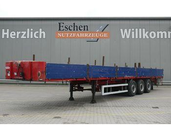 Pritschenauflieger/ Plattformauflieger ES-GE 3 SAL Auflieger Pritsche*Liftachse*Rungentaschen