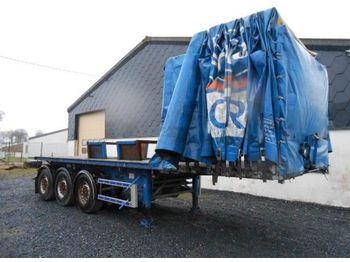Pritschenauflieger/ Plattformauflieger Trax Coil transport semi-trailer
