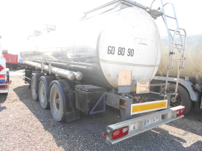 Tank Auflieger Bsl