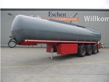 Tank Auflieger Kässbohrer STH 34/10-24*A3*2Kammern*Senning*Alu*LGBF
