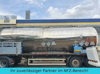 Tank Auflieger Magyar V4A CHEMIE  Tankcontainer isoliert  32.500 liter