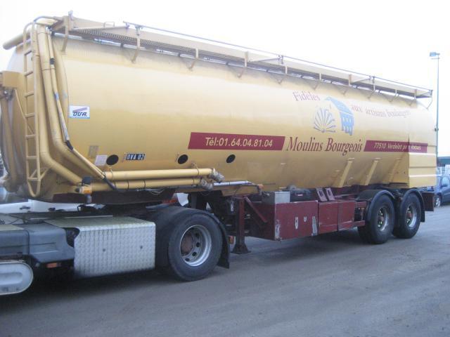Tank Auflieger Ova