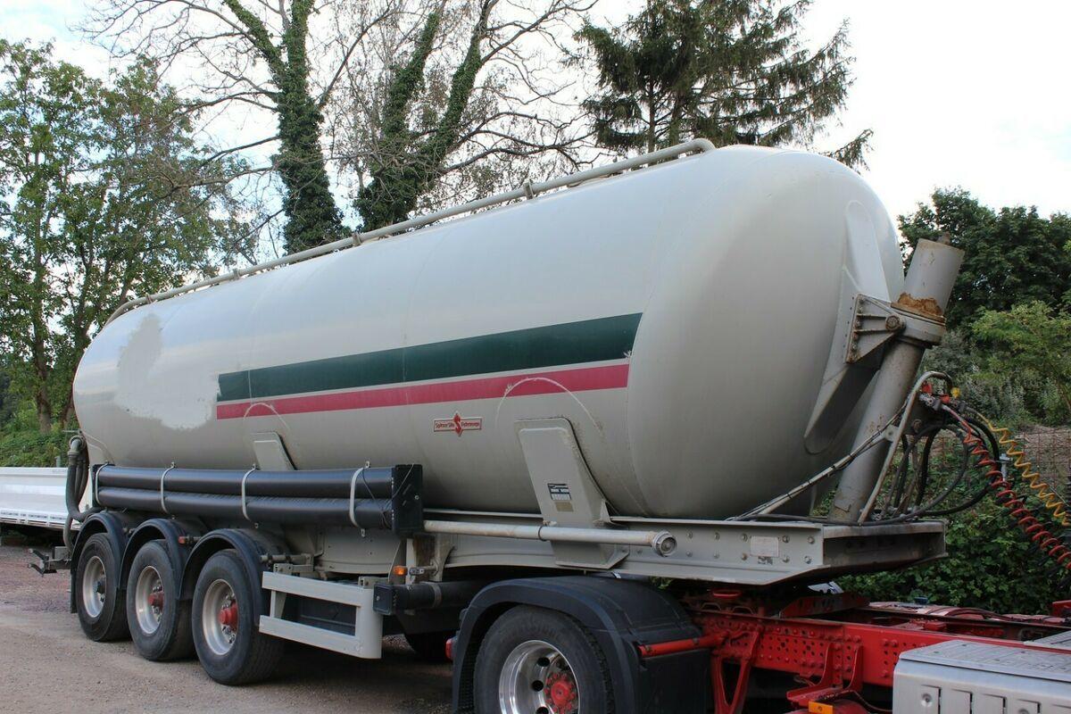 Tank Auflieger Spier Kipp Silo 3 -Achser