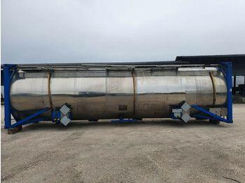 Tank Auflieger T+A TANK CONTAINER Chemietank  V4A 31000 Liter