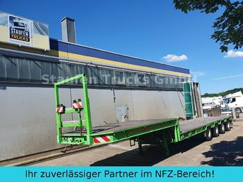 Tieflader Auflieger Broshuis 4-Achs SEMI Tieflader extendable 58 to
