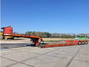Doll T3E-0S3F 3 axle / low bed  - Tieflader Auflieger