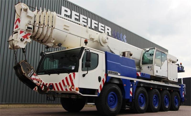 All-Terrain Kran Liebherr LTM1100-5.2
