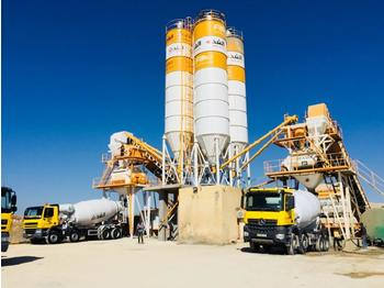 FABO POWERMIX-160 STATIONARY TYPE CONCRETE PLANT WITH 160 M3/H CAPACITY - Betonmischanlage