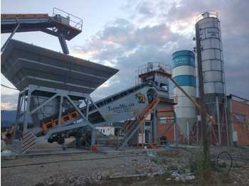 FABO TURBOMIX-110 Mobile Concrete Batching Plant - Betonmischanlage