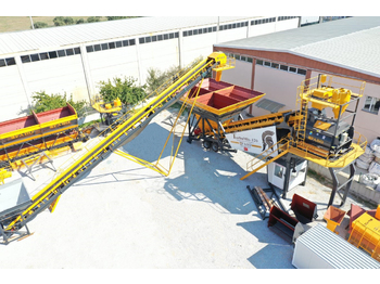 FABO TURBOMIX-120 Mobile Concrete Mixing Plant**IN STOCK - Betonmischanlage