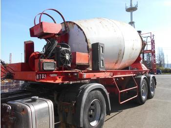 Betonmischer Auflieger Dorgler malaxeur beton