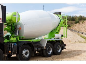 Betonmischer Euromix Beton Mischer 8m³ R