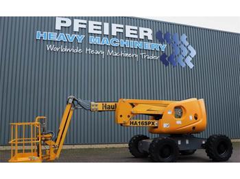 Gelenkarmbühne Haulotte HA16SPX Diesel, 4x4 Drive, 16m Working Height, Jib