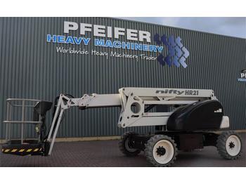 Gelenkarmbühne Niftylift HR21DE 2WD Bi Energy, 20.8 m Working Height, 13m R