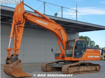 Kettenbagger Doosan DX 255 LC Original hours from 1st owner