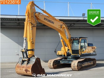 Hyundai Robex 350 LC -9 Low hours - Hammer line - track excavator - Kettenbagger
