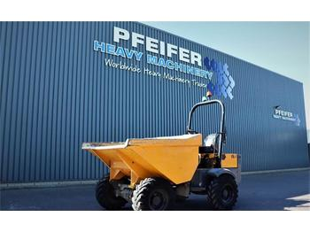 Knickgelenk Dumper Terex TA3H Diesel, 4x4 Drive, Power Tip Dumper