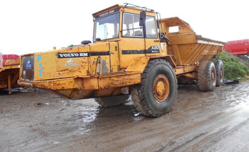 Knickgelenk Dumper Volvo A 20