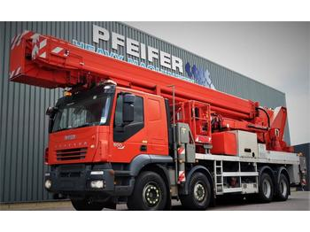 LKW mit Arbeitsbühne Multitel J2-365 TA 8x4x4 Drive, 66m Working Height, 33m Rea