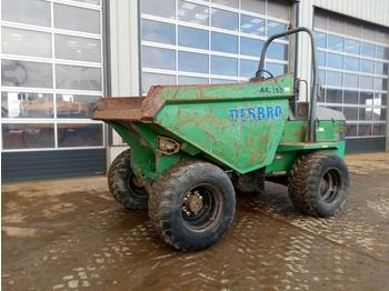 2007 Benford 9 Ton Dumper, Roll Bar - Mini-Kipper