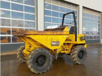 Thwaites 6 Ton Dumper, Roll Bar - Mini-Kipper
