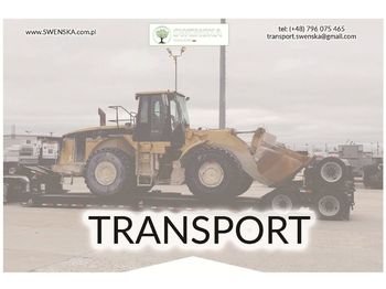 Radlader CATERPILLAR Transport maszyn, uczciwe stawki. Zadzwoń 577. 011. 156
