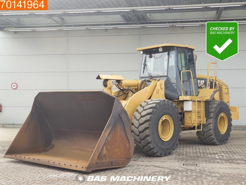 Radlader Caterpillar 966H FULL STEERING - 80% TYRES