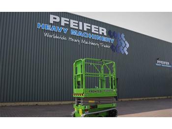 Scherenbühne FRONTEQ FS0507T New, CE Declaration, 6.7m Working