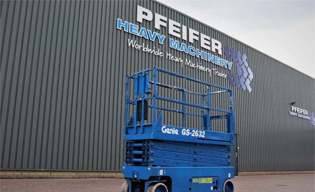 Scherenbühne Genie GS2632 Electric, 10m Working Height, Non Marking T