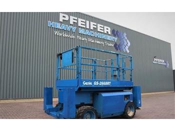 Scherenbühne Genie GS2668RT Diesel, 4x4 Drive, 10m Working Height, Ro