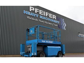 Scherenbühne Genie GS2668RT Diesel, 4x4 Drive, 9.92m Working Height,