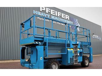 Scherenbühne Genie GS3384RT Diesel, 4x4 Drive, 12m Working Height, 11