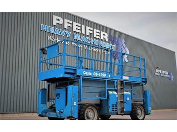 Scherenbühne Genie GS4390RT Diesel, 4x4 Drive, 15.11m Working Height,