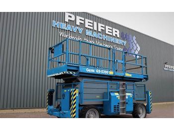 Scherenbühne Genie GS5390RT Diesel, 4x4 Drive, 18.3m Working Height,