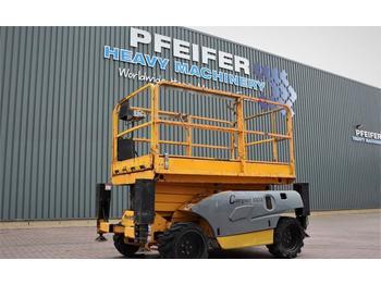 Scherenbühne Haulotte COMPACT 10DX Diesel, 4x4 Drive, 10.2m Working Heig