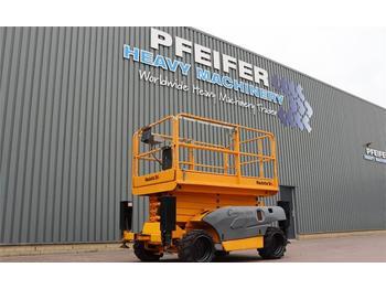 Scherenbühne Haulotte COMPACT 12DX Diesel, 4x4 Drive, 12.2m Working Heig