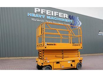 Scherenbühne Haulotte COMPACT 12 Electric, 12m Working Height, 300 kg Ca