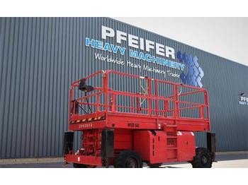 Scherenbühne Haulotte H12SX Diesel, 4x4 Drive, 12m Working Height, Rough