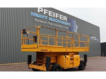 Scherenbühne Haulotte H15SXL Diesel, 4x4 Drive, Mega Deck, 15m Working H