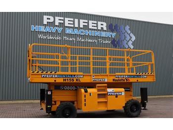 Scherenbühne Haulotte H15SXL Valid inspection, *Guarantee! Diesel, 4x4 D