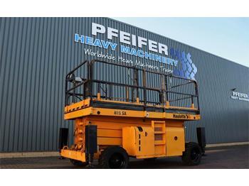 Scherenbühne Haulotte H15SX Diesel, 4x4 Drive, 15m Working Height, Rough