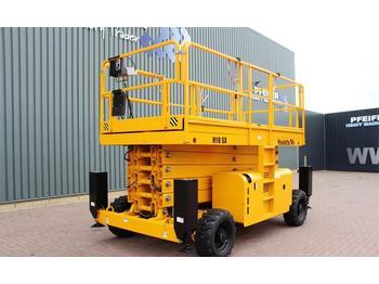 Scherenbühne Haulotte H18SX Diesel, 4x4 Drive, 18 m Working Height, Roug