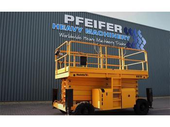 Scherenbühne Haulotte H18SX Diesel, 4x4 Drive, 18m Working Height, 500kg