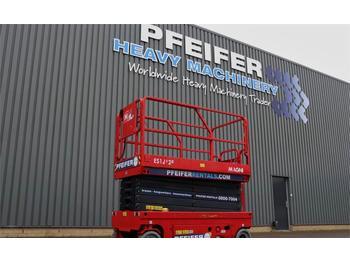 Scherenbühne Magni ES1212E Valid inspection, *Guarantee! Electric, 12