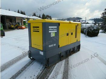 Stromgenerator Atlas Copco Stromaggregat QAS 80