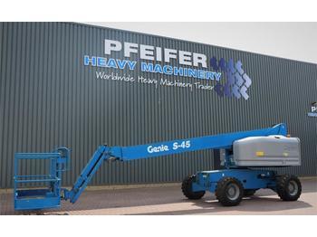 Teleskopbühne Genie S45/4WD Valid inspection, *Guarantee! Diesel, 4x4