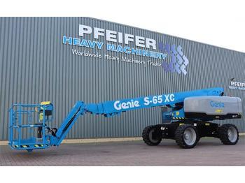 Teleskopbühne Genie S65XC Valid inspection, *Guarantee! Diesel, 4x4 Dr