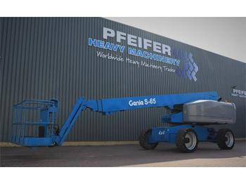 Teleskopbühne Genie S65 4WD Valid inspection, *Guarantee! Diesel, 4x4